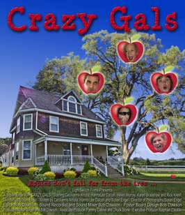 Crazy Gals - 27 x 40 Movie Poster - Style A