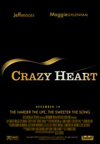 Crazy Heart - 11 x 17 Movie Poster - Style B