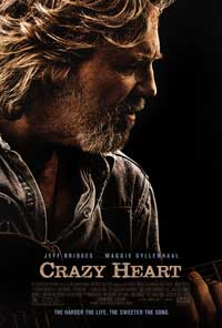 Crazy Heart - 43 x 62 Movie Poster - Bus Shelter Style A