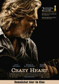 Crazy Heart - 11 x 17 Movie Poster - German Style A