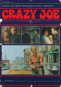 Crazy Joe - 27 x 40 Movie Poster - Italian Style C
