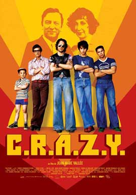 C.R.A.Z.Y. - 11 x 17 Movie Poster - French Style B