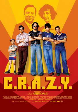 C.R.A.Z.Y. - 27 x 40 Movie Poster - French Style B