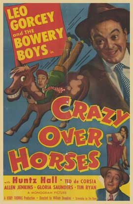 Crazy Over Horses - 11 x 17 Movie Poster - Style A