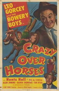 Crazy Over Horses - 43 x 62 Movie Poster - Bus Shelter Style A