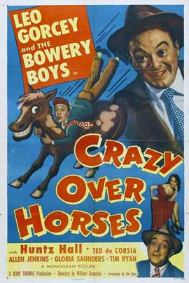 Crazy Over Horses - 27 x 40 Movie Poster - Style A