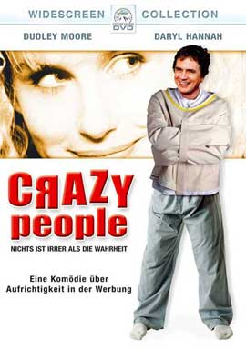 Crazy People - 11 x 17 Movie Poster - German Style A