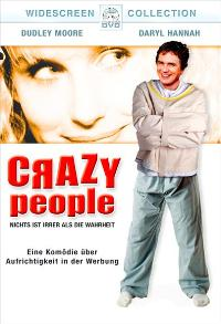 Crazy People - 27 x 40 Movie Poster - German Style A