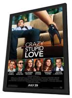 Crazy, Stupid, Love. - 11 x 17 Movie Poster - Style A - in Deluxe Wood Frame