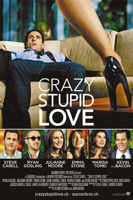Crazy, Stupid, Love. - 11 x 17 Movie Poster - Swiss Style A