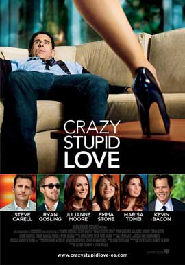 Crazy, Stupid, Love. - 11 x 17 Movie Poster - Spanish Style A