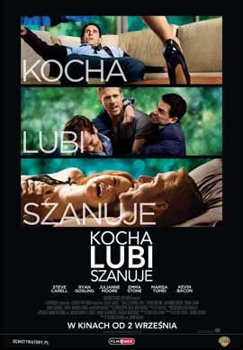 Crazy, Stupid, Love. - 27 x 40 Movie Poster - Polish Style A