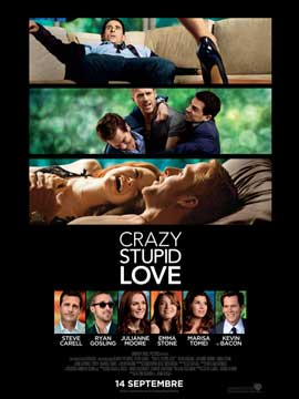 Crazy, Stupid, Love. - 43 x 62 Movie Poster - French Style A