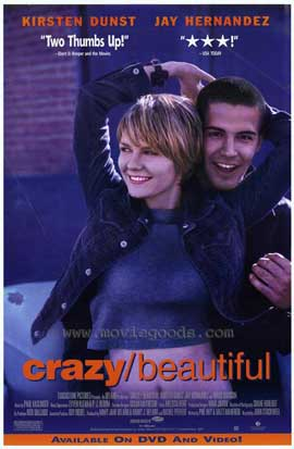 crazy/beautiful - 27 x 40 Movie Poster - Style B