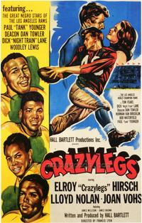Crazylegs - 43 x 62 Movie Poster - Bus Shelter Style A
