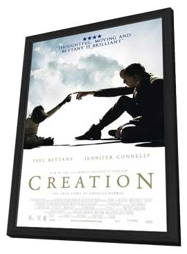 Creation - 11 x 17 Movie Poster - Dutch Style A - in Deluxe Wood Frame