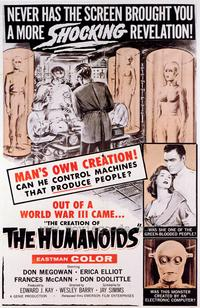 The Creation of the Humanoids - 43 x 62 Movie Poster - Bus Shelter Style A