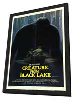 Creature from Black Lake - 11 x 17 Movie Poster - Style A - in Deluxe Wood Frame