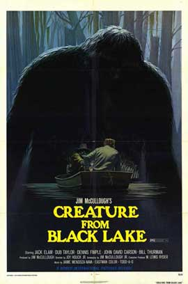Creature from Black Lake - 11 x 17 Movie Poster - Style A