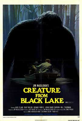 Creature from Black Lake - 27 x 40 Movie Poster - Style A