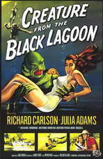 Creature from the Black Lagoon - 11 x 17 Movie Poster - Style A