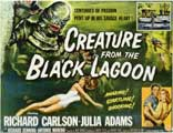 Creature from the Black Lagoon - 11 x 17 Movie Poster - Style B