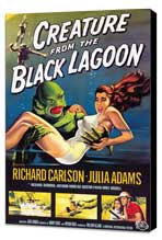 Creature from the Black Lagoon - 27 x 40 Movie Poster - Style A - Museum Wrapped Canvas