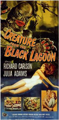 Creature from the Black Lagoon - 11 x 17 Movie Poster - Style D