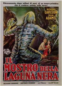 Creature from the Black Lagoon - 11 x 17 Poster - Foreign - Style A