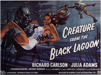 Creature from the Black Lagoon - 11 x 14 Poster - Foreign - Style B