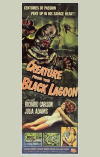 Creature from the Black Lagoon - 11 x 17 Movie Poster - Style F