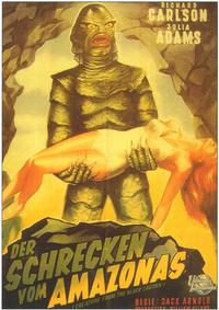 Creature from the Black Lagoon - 11 x 17 Movie Poster - German Style A