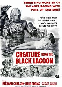 Creature from the Black Lagoon - 11 x 17 Movie Poster - Style G