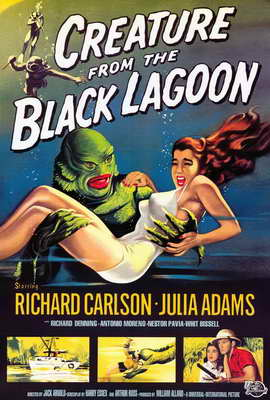 Creature from the Black Lagoon - 27 x 40 Movie Poster - Style A