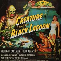 Creature from the Black Lagoon - 11 x 17 Movie Poster - Style C