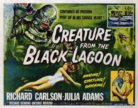 Creature from the Black Lagoon - 22 x 28 Movie Poster - Half Sheet Style A