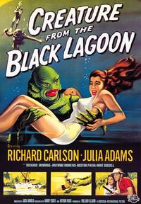 Creature from the Black Lagoon - 43 x 62 Movie Poster - Bus Shelter Style A
