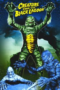 Creature from the Black Lagoon - 11 x 17 Movie Poster - Style H