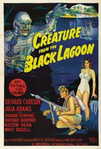 Creature from the Black Lagoon - 11 x 17 Movie Poster - Australian Style A