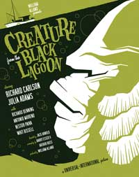 Creature from the Black Lagoon - 11 x 17 Movie Poster - Style K