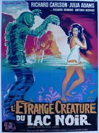 Creature from the Black Lagoon - 11 x 17 Movie Poster - French Style A