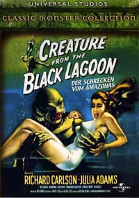 Creature from the Black Lagoon - 11 x 17 Movie Poster - German Style B