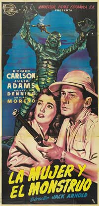 Creature from the Black Lagoon - 20 x 40 Movie Poster - Style A
