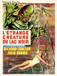 Creature from the Black Lagoon - 11 x 17 Movie Poster - French Style B