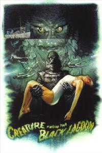Creature from the Black Lagoon - 27 x 40 Movie Poster - Style D