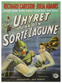 Creature from the Black Lagoon - 43 x 62 Movie Poster - Danish Style A