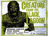 Creature from the Black Lagoon - 11 x 17 Movie Poster - Style N