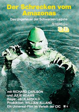Creature from the Black Lagoon - 11 x 17 Movie Poster - German Style C