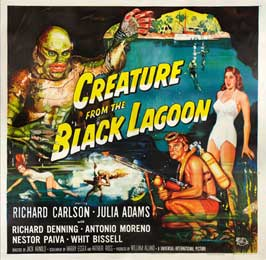 Creature from the Black Lagoon - 30 x 30 Movie Poster - Style A