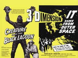 Creature from the Black Lagoon - 30 x 40 Movie Poster UK - Style A